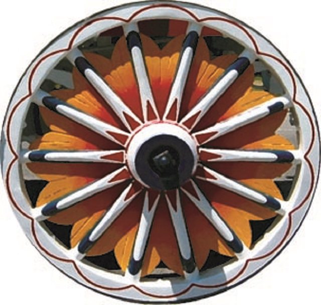Sunburst-Wheel